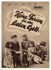 Filmprogramm: Keine Ferien für d. lieben Gott, Nr.33/53
