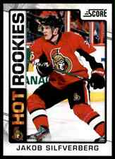 2012-13 Score Hot Rookies Jakob Silfverberg Rookie #504