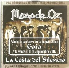 MAGO DE OZ - LA COSTA DEL SILENCIO CD SINGLE 1 TRACK PROMO 2003 RARE SPAIN
