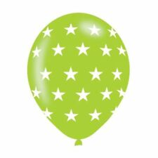 6pk Assorted Colours Star Latex Balloon Birthday Wedding Event Party Decorations
