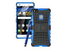 Fundas y carcasas lisos Para Huawei P8 lite color principal azul para teléfonos móviles y PDAs