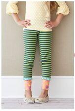 NWT Matilda Jane 12 Secret Fields Hudson Ribbed Leggings Striped Pants