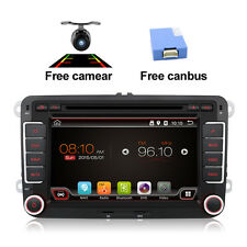 2G+32G Quad Core Android 6.0 AUTORADIO Stereo GPS Nav DVD Radio for VW+CANBUS