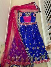 Bollywood Designer Readymade Saree Sari Blouse Lehenga Choli