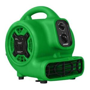 XPOWER P-230AT 925 CFM 3 Speed Mini Air Mover Carpet Dryer Floor Fan Blower