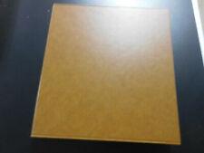 Lindner Schutzkassette 1102y für 18 Ringalbum Format Vordruckblätter Farbe braun