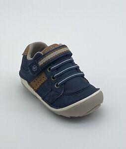 Stride Rite SRTech Soft Motion Artie - Navy Blue - Baby Boy's Shoes Size 3