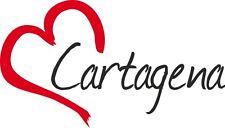 """AUTO Adesivo """"Cartagena"""" sticker città Spagna circa 9x15cm contorno tagliati"""
