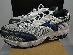 MIZUNO WAVE ALCHEMY III  Womens Running Trainers White Blue UK 4