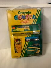 Crayola Kids 110 Film Camera Nos Outfit Film Fanny Pack Crayons