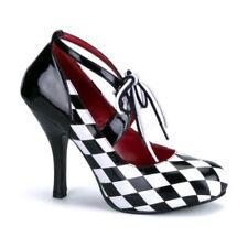 Stiletto Patent Leather Heels Women's Check