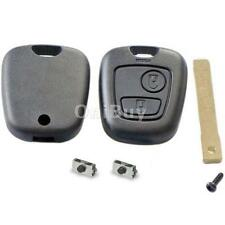 Repair 2 Button Shell for Peugeot 307 Remote Key Case Switches