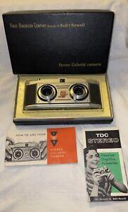 Superb TDC Colorist Stereo Camera w/ Rodenstock Trinar 35mm f3.5 Lens w/Orig Box
