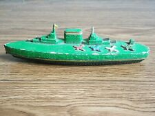 "Rare vintage ""MAXWELL"" Aircraft Carrier diecast toy of 60's."