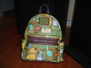 LOUNGEFLY DISNEY UP ICONS MINI BACKPACK~ WITH TAGS~ BRAND NEW~