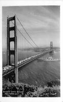 Golden Gate Bridge San Francisco California 1930s RPPC Photo Postcard 20-11470