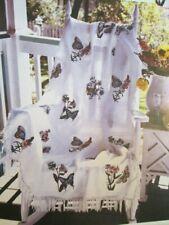 White 8 count Gerstenkorn Huckweave Zweigart fabric 50 x 85 cm Huck Weaving