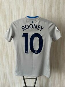 Everton Umbro Rooney 2017/2018 Jersey Shirt Youth XL Size Adult XS