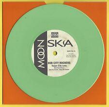 "DUB CITY ROCKERS - TROJAN CITY LOVE/IT'S A CRIME - 7"" green ltd vinyl - DCR 701"