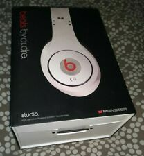 GENUINE BEATS STUDIO BY DR.DRE AND MONSTER EMPTY BOX FOR WHITE HEADPHONES
