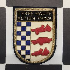 RARE Terre Haute Action Track Crest Patch Sprint Car Dirt Track Indy 500 Racing