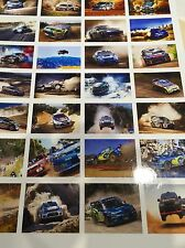 1/18 diorama RALLY CAR showroom /garage posters  0021