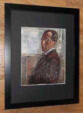 Piet Mondrian print -12''x16'' Framed Mondrian print, Self Portrait by Mondrian