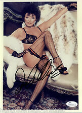 JOAN COLLINS SIGNED AUTOGRAPHED 8X10 SEXY LINGERIE AUTHENTICATED COA #N44355