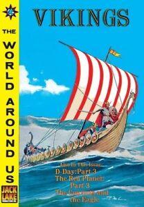World Around Us #W29 - Illustrated Story of Vikings, Canadian CI publisher, New!