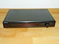 SONY ST-SE500 High-End Stereo Tuner in Schwarz mit RDS Radiotext, 2J. Garantie