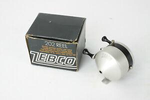 Vintage Zebco ZERO HOUR BOMB Co. Reel With 202 Box ... Near Mint!