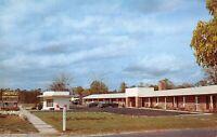 Folkstone Georgia 1950s Postcard Motel Okefenokee