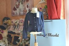 veste tartine et chocolat neuve 3 ans boutons papille 15% laine va avec jupe**