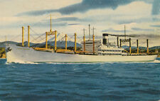 Postcard Ship SS Japan Transport 1953