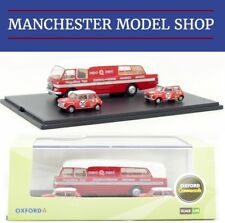 Oxford Diecast 76BMC003 1:76 Car Transporter & 2 Minis BMC Competitions Dept NEW