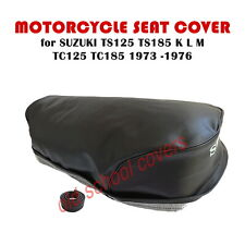 MOTORCYCLE SEAT COVER SUZUKI TS125 TS185 K L M TC125 TC185 1973 -1976