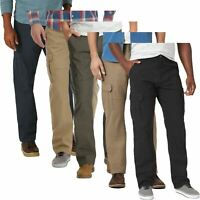 Mens Wrangler Relaxed Fit Stretch Cargo Combat Trousers Pockets Big Sizes 30-48