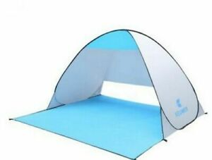 Beach Pop Up Tent Open Camping Tent Fishing Hiking Outdoor Auto Anti Uv Shelter