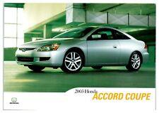 2003 Honda Accord Coupe Postcard *5C