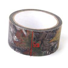 10M Cinta Adhesiva Militar Camuflaje Camo Wrap Rifle Caza Pesca Tape