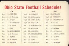 1978 1979 1980 Ohio State Football Schedule 101917jh