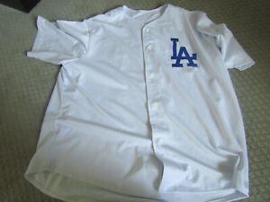 Steve Garvey Los Angeles Dodgers White Baseball Jersey