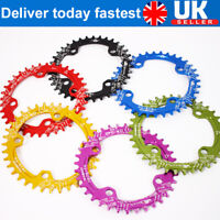 UK SNAIL 32-42t 104mm Narrow Wide Round Oval MTB Bike Chainwheel Chainring Guard