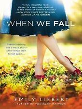 When We Fall by Emily Liebert (English) MP3 CD Book