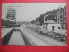LYON  : L'Écluse à l'Ile Barbe.......VO.1907.