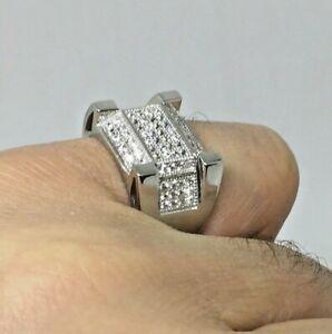 New Men's Pinky Ring Genuine Sterling Silver Ring Men's Ring Hallmark 925