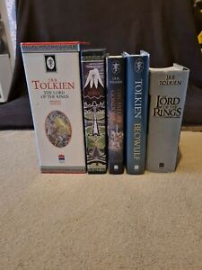 The Lord Of The Rings Hardback Book Collection, J.R.R. Tolkien