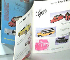 1/43 speed catalog 1985: porsche le mans, mercedes, saurer, opel manta