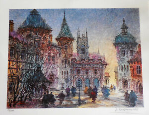 Anatole Krasnyansky (4) Limited Edition Lithographs Hand Signed