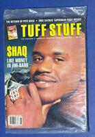 🔥1993 Tuff Stuff Magazine June Shaq O'Neal Pete Rose Superman Pogs NIB HOF HTF